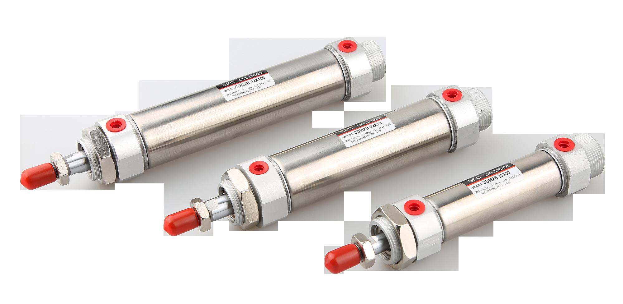 Slim Cylinder Cm2b Series